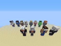 stuzzcraft statues Minecraft Map & Project