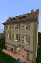 Sweden Street - A google Images Minecraft Recreation Minecraft Project