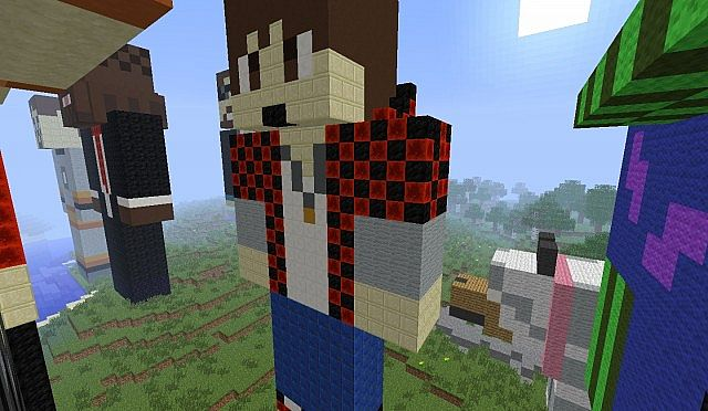 giant skin builds more minecraft project