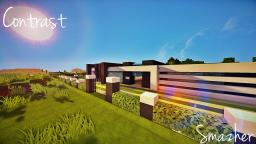 [Modern] Contrast a modern house by smazher Minecraft Map & Project