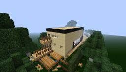 Unique Modern House Minecraft Map & Project