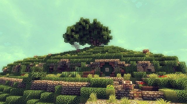 Bag End Hobbiton Minecraft Project