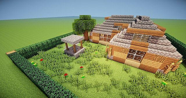 The Old Never Dies Minecraft Small Old House Minecraft Map