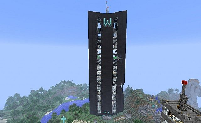 Wayne Tower Minecraft Project