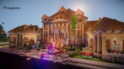 Frappae ~ Georgian Style Mansion Minecraft Map & Project