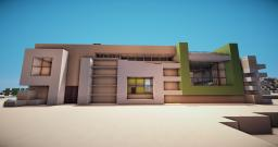 Modern House |CactuK| Minecraft Map & Project
