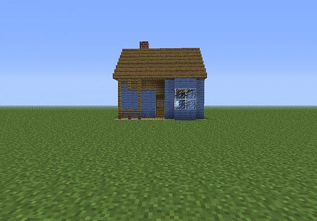 Small farm house minecraft project for Pictures of small farm houses