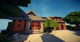 Country Mountain Home Minecraft Map & Project