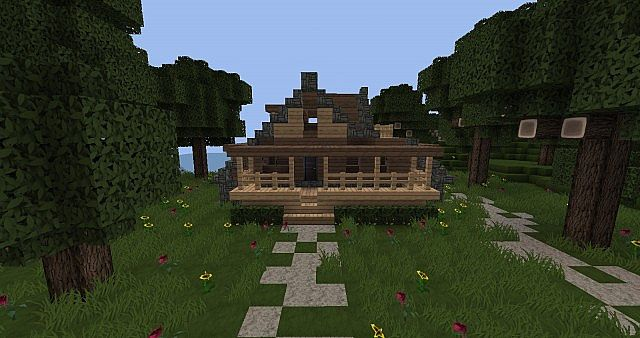 Cozy Cottage Starter House Schematic Minecraft Project
