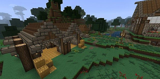1 6 Vanilla German Homestead More Minecraft Project