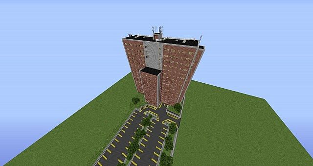 Maine Minecraft Tour Franklin Towers Minecraft Project