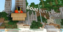 Boat Jumping Minecraft