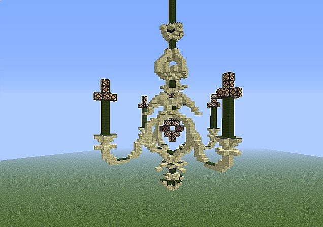 Chandelier minecraft project - Build a chandelier ...