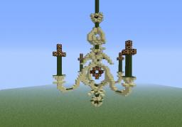 Chandelier Minecraft Map & Project