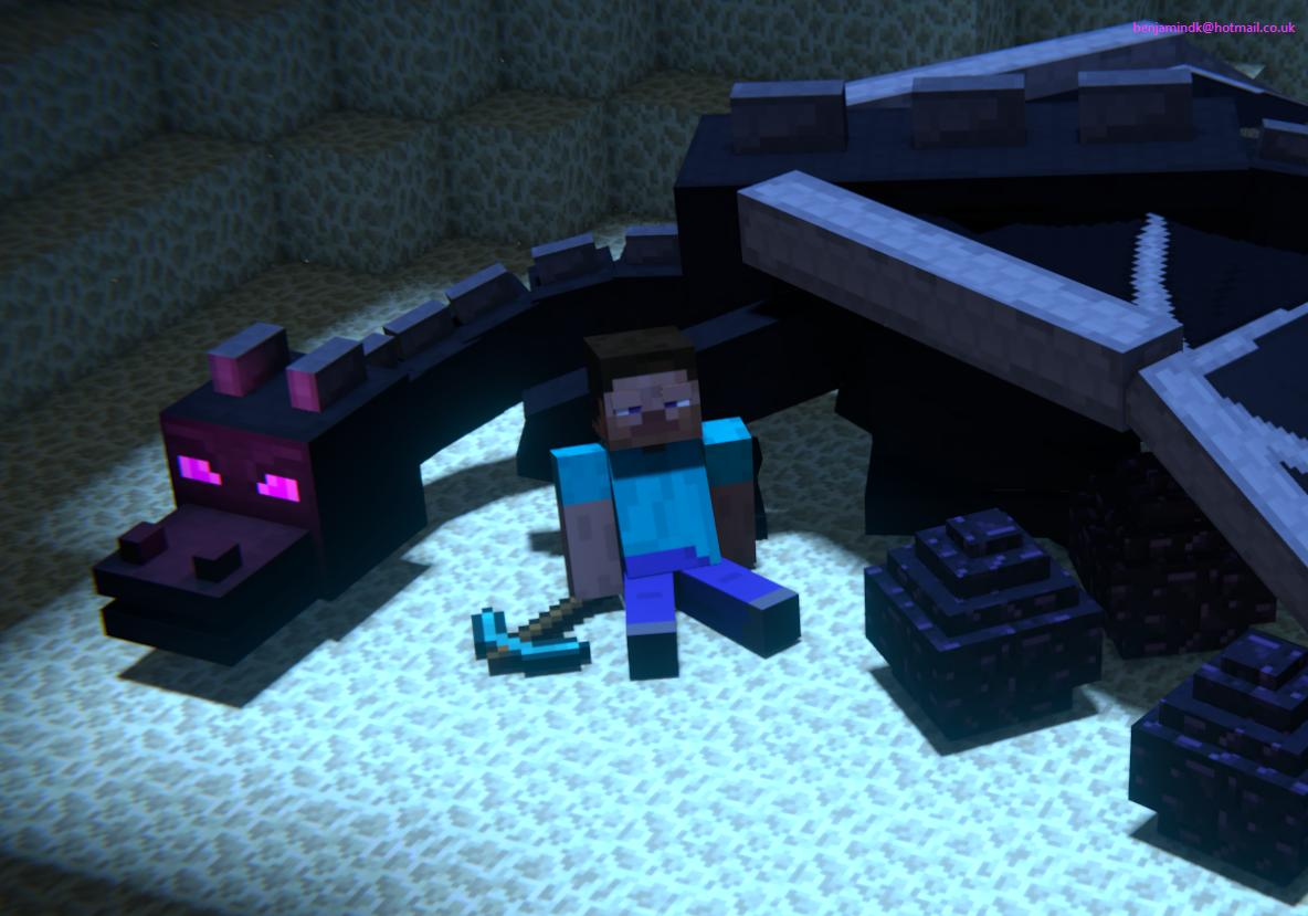 Steve And The Enderdragon