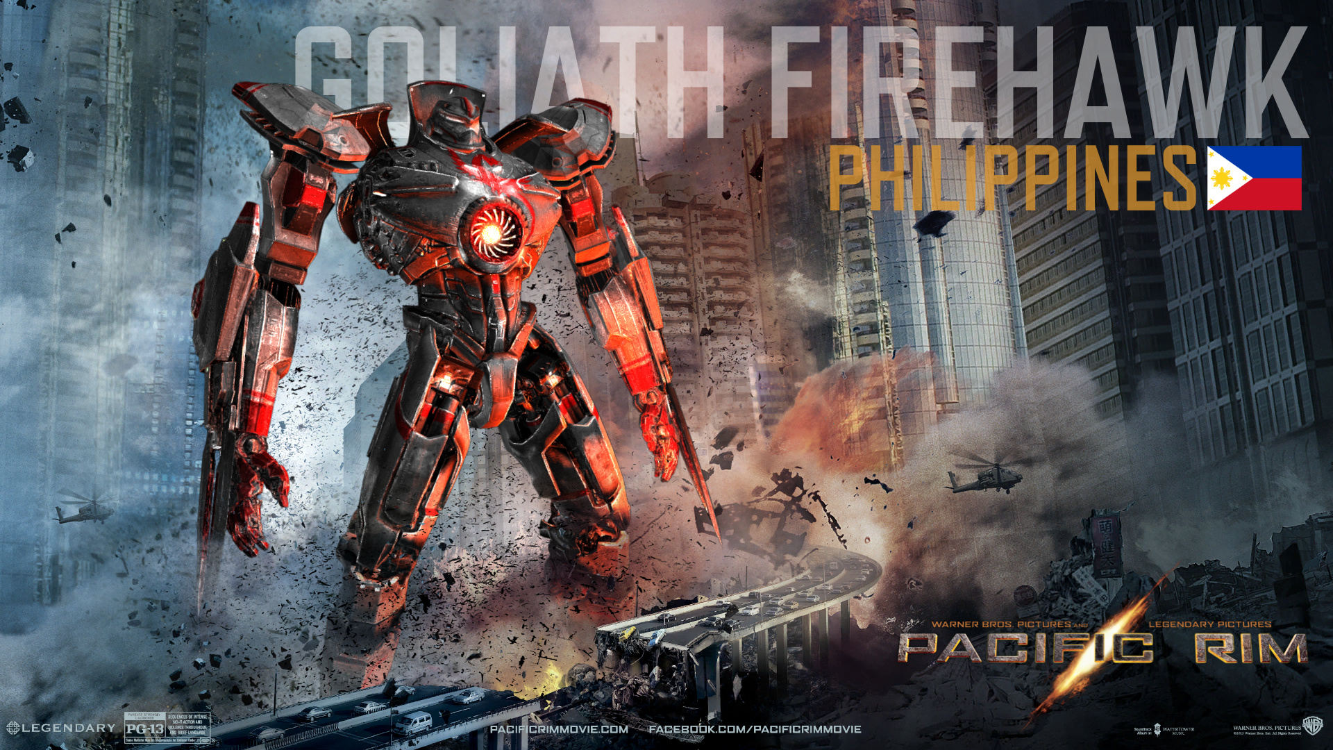 Goliath Firehawk - Pacific Rim Minecraft Map & Project