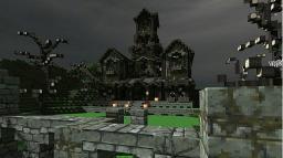 Halloween Mansion Minecraft Map & Project