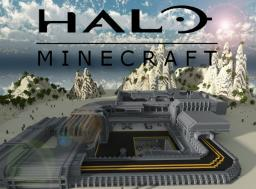 """OUTPOST"" HALO inspired PVP map Minecraft Map & Project"
