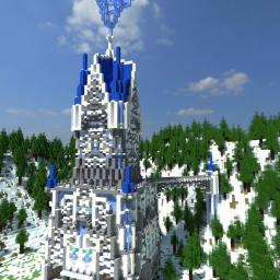 Lansor: Ice Mage Tower Minecraft Project