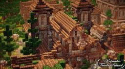 KAPOLCHA TRADE ISLAND - BLOCK BY BLOCK Minecraft