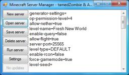 Minecraft Server Manager 1.4 - Bug fixes Minecraft Mod
