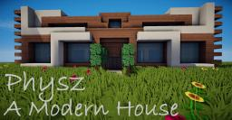 Modern House - Phys [CINEMATIC NEW] Minecraft Map & Project
