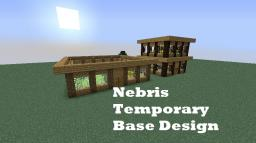 Nebris Temporary Base Design Minecraft Map & Project