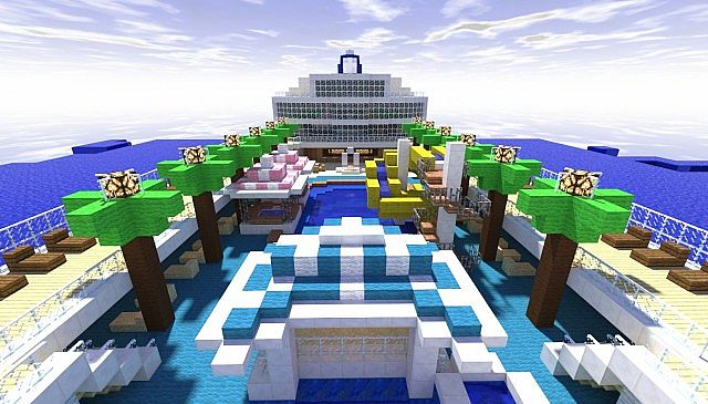 Norwegian Pearl Scale Real Cruise Ship Download Minecraft - Norwegian pearl cruise ship