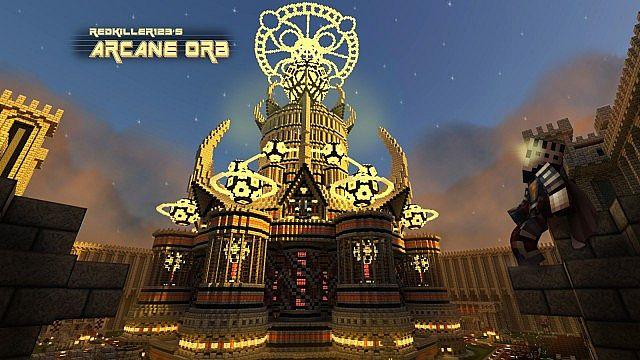 Arcane Orb [Survival Build] Minecraft Project