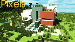 Pixels- A Modern Minimal Build By Minecraft Expert Minecraft Map & Project