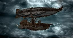 Fantasy Steampunk Airship Minecraft Project
