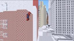 Spider Man Minecraft Project