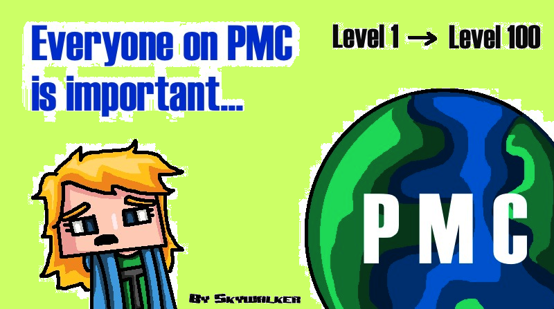Everyone on PMC is important... Minecraft Blog Post