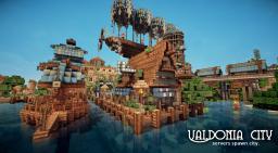 VALDONIA CITY Minecraft Map & Project