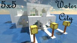 Water City: Cube City Contest Entry Minecraft Map & Project