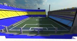 [Minecraft Megabuild] Bombonera Stadium Minecraft