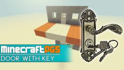 Door Lock - Door with working Key - Item Reader Minecraft