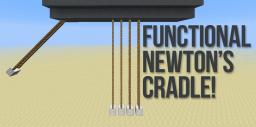 Functional Newton's Cradle! [1.6.2] Minecraft Project