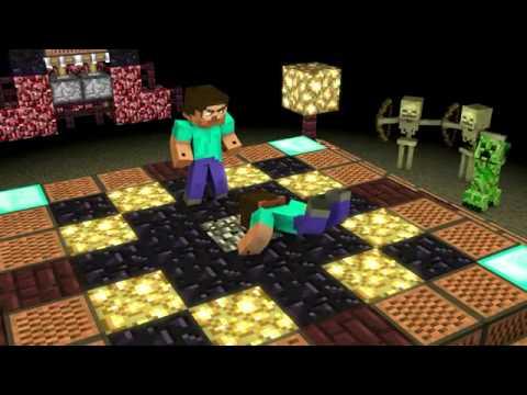 Minecraft Herobrine Vs Steve Herobrine vs n... minecraft