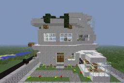 Modern Houses Minecraft Map & Project