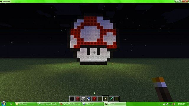 how to make mushrooms grow in minecraft