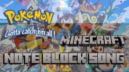 Minecraft Note Block Song: Pokémon Theme (Gotta catch 'em all) Minecraft Map & Project