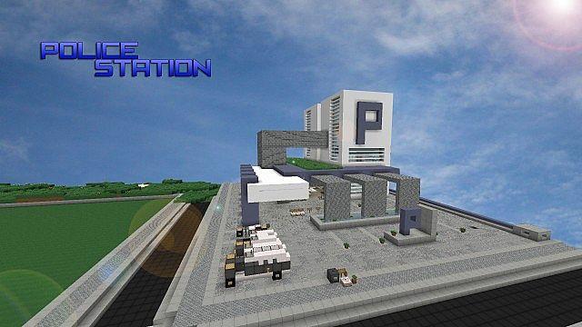 Modern | Police Station | WoK Minecraft Project