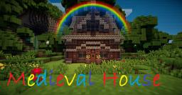 Medieval House By ZYXW (DOWNLOAD LINK AVAIBLE) Minecraft Map & Project