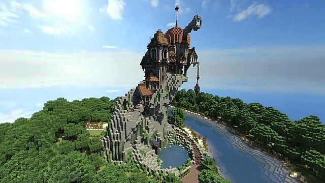 Warhammer: Reik River Observatory Minecraft Project