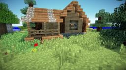 Small rustic house Minecraft
