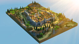 Monteriggioni from Assassin's Creed II Minecraft Map & Project