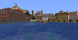 The City of Grassia - A Different Way to Build Minecraft Map & Project