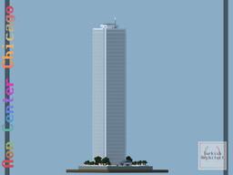 Aon Center, Chicago Illinois USA (Full Interior) Minecraft Map & Project