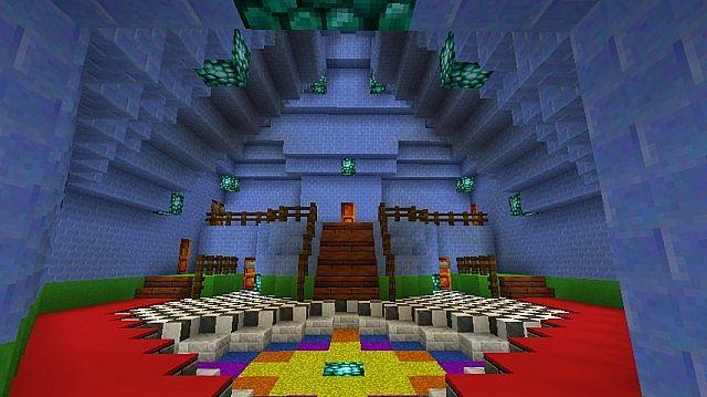 Super Mario 64 adventure map 4 MineCraft! 1st update! Minecraft Project
